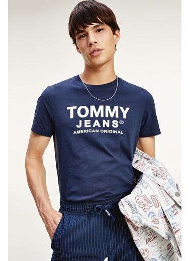 Tommy Hilfiger Erkek Tjm Essentıal Front Tişört DM0DM08349C87 Renkli